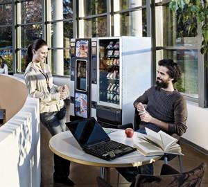 установка кофейных и снековых автоматов