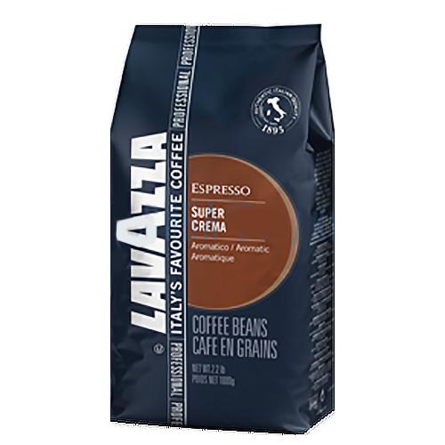 LAVAZZA Espresso «Super Crema» зерновой кофе